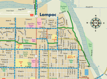 Lompoc Bike Map